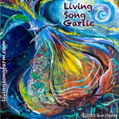 Cosmic Garlic Bulb Living Song